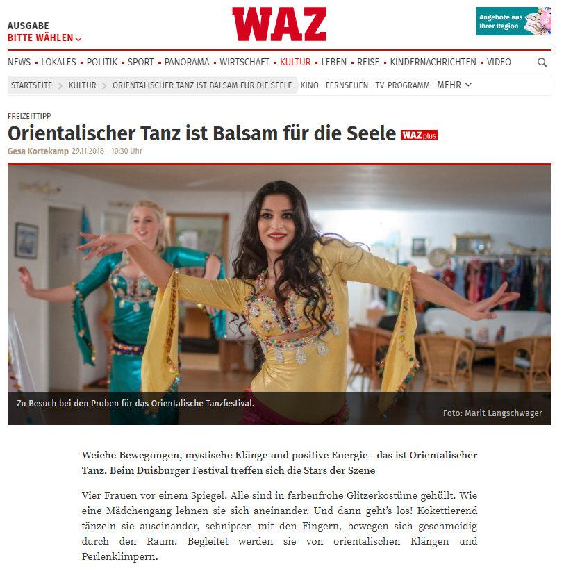 Presse WAZ 26 Artikel seite 1 von 3