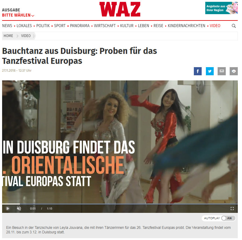 Presse WAZ 26 OFE
